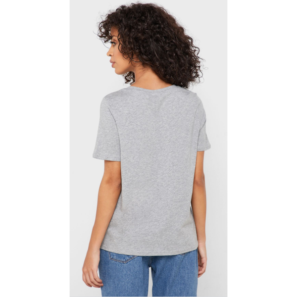 VERO MODA : Grey Crew Neck
