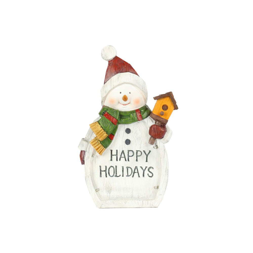 Happy Holiday - Snowman Colour Changing LED Lights