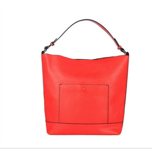 COPE CLOTHING : Red tote bag