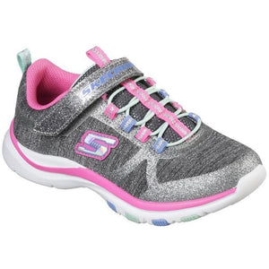 SKECHERS : Girls Jazzy Jumper Trainer