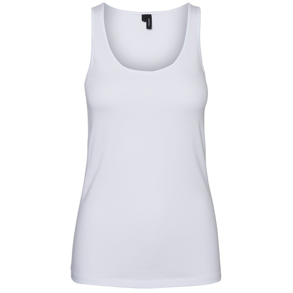 VERO MODA : Soft Short Tank Top White