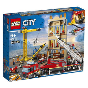 Lego City Downtown Fire Brigade Building Set (Multi-Colour, 60216). - shopperskartuae