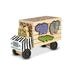 Melissa & Doug 15180 Animal Rescue Sorting Truck
