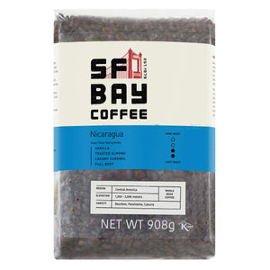 San Francisco Bay Nicaraguan Whole Bean Coffee (908g). - shopperskartuae