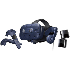 HTC VIVE Pro Full Kit | Virtual Reality System HTC | The professional-grade VR headset - shopperskartuae