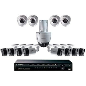 Lorex indoor and outdoor security camera system (16 channel).