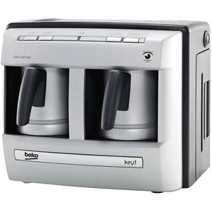 Beko Turkish Coffee Machine with Double Pot - BKK 2113P - Shoppers-kart.com