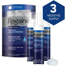 Load image into Gallery viewer, Regaine For Men Hair Regrowth Foam ( 73ml). - Shoppers-kart.com
