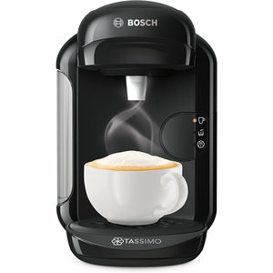 Tassimo Bosch TASSIMO Vivy 2 TAS1402GB Coffee Machine, 1300 Watt, 0.7 Litres (Black). - shopperskartuae