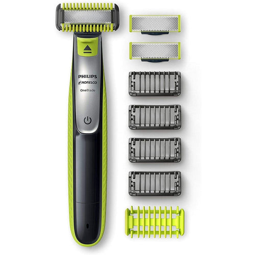 Philips ONEBLADE Hybrid Electric Face, Body Trimmer and Shaver Qp2630/60. - shopperskartuae