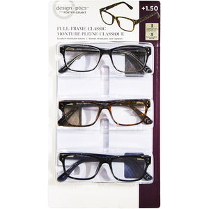 Foster Grant Full-frame Classic Eye Wear (Pack Of 3). - shopperskartuae