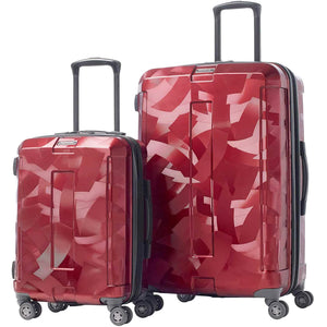 Samsonite Carbon Tangram Textured 2 Piece Hardside Luggage Set.