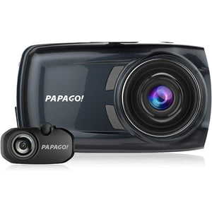 PAPAGO! GoSafe S810 Sony Sensor Dash Cam 2-Channel Free 16GB Micro SD Card. - shopperskartuae