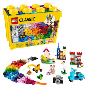 LEGO 10698 Classic Large Creative Brick Box (790 Pieces). - shopperskartuae