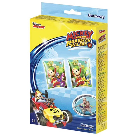 Bestway Mickey And The Roadster Racers Kids Swimming Accessories Ages (3-6).