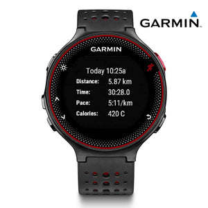 Garmin Forerunner 235 (Black/Red) - Wrist Based Heart Rate Monitoring GPS Running Watch.