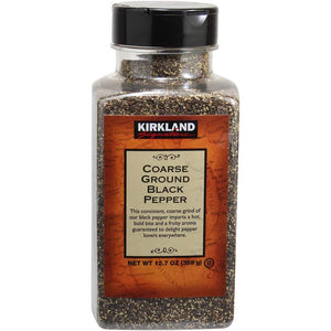 Kirkland Signature Coarse Ground Black Pepper (359g). - shopperskartuae