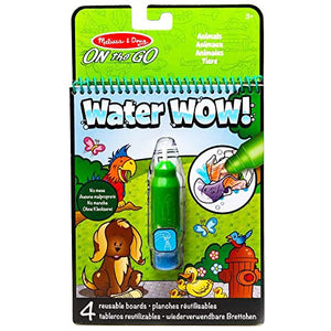 Melissa And Doug Water Wow Animals On The Go Travel Activity. - shopperskartuae