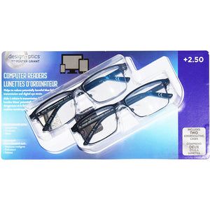 Design Optics Computer Readers Glasses (+2.50). - shopperskartuae