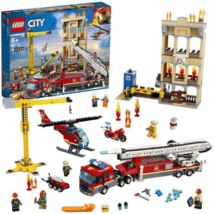 Lego City Downtown Fire Brigade Building Set (Multi-Colour, 60216). - Shoppers-kart.com