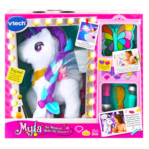 Vtech Magical Myla, Make-Up Interactive Unicorn (White).