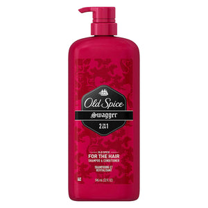 Old Spice Swagger Men's 2in1 Shampoo and Conditioner (946mL).