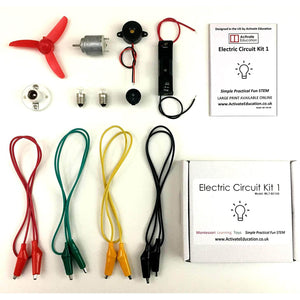 Activate Education Montessori Learning Toys - Electric Circuit Kit 1. - shopperskartuae