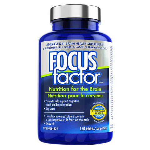 Focus Factor Nutrition For The Brain (150 Tablets).