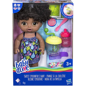 Baby Alive Girl Sweet Spoonfuls Baby Doll (E0362ES0). - shopperskartuae