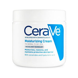 CeraVe Moisturizing Cream (539g) - For Normal to Dry Skin, Daily Face And Body Moisturizer For Dry Skin. - shopperskartuae