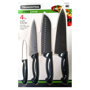 Tramontina ProLine Cook's Knife Set (4 Pieces). - shopperskartuae