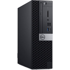 Dell OptiPlex 7070 Desktop Computer - Intel Core i7-9700 - 16GB RAM - 1TB HDD + 256GB SSD - Small Form Factor - shopperskartuae