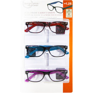 Foster Grand Full-Frame Ladies Fashion Eye Wear Pack Of Three. - shopperskartuae