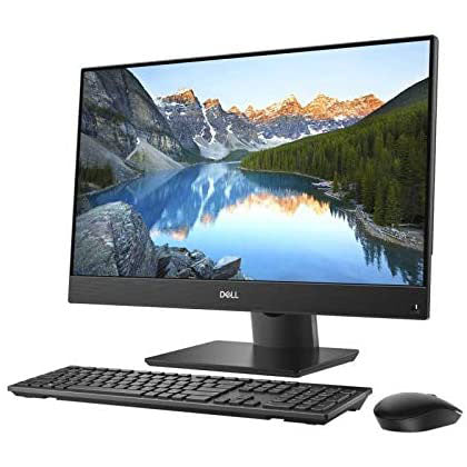 Dell Inspiron 3477 All-in-One Desktop -Intel Core i5-7200U, 23.8-Inch Touch, 1TB HDD,256 SSD, 8GB RAM, Windows 10, Black, Keyboard, Mouse. - shopperskartuae