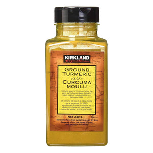 Kirkland Signature Ground Turmeric (340g). - shopperskartuae