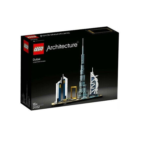 LEGO 21052 Architecture Dubai Model, Skyline Collection, Collectible Building Set - shopperskartuae