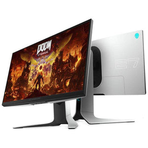 Dell Alienware AW2720HF FHD IPS LED Edgelight Gaming Monitor (Lunar Light) - 240 Hz, 1ms, AMD FreeSync. - shopperskartuae