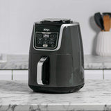 Ninja  Air Fryer Max AF160UK - 5.2 Liters Lower Fat Healthier Frying (Grey and Black)