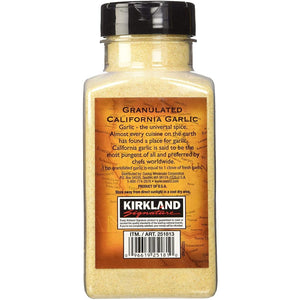 Kirkland Signature Granulated California Garlic Finest Quality (510g). - shopperskartuae
