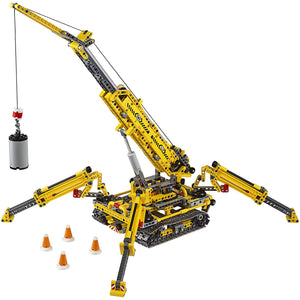 LEGO Technic Compact Crawler Crane 42097 Building Kit (920 Pieces).