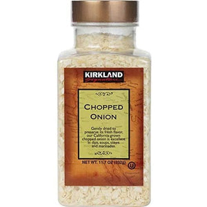 Kirkland Signature Dried Chopped Onion (332g). - shopperskartuae