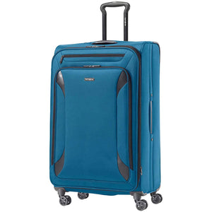 Samsonite Bridgton Collection 4-Piece Softside Luggage Set (Blue).