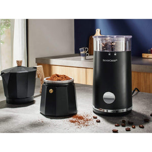Silvercrest Electric Coffee Grinder - For Freshly Brewed Coffee (Upto 9 Cups). - shopperskartuae
