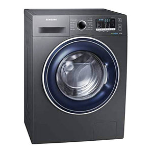 Samsung Washing Machine EcoBubble 8Kg Washer - Black (WW80J5555FX). - shopperskartuae