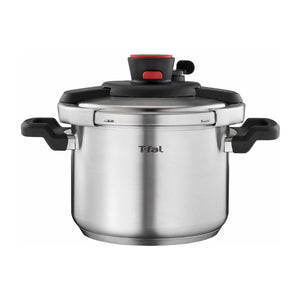 T-Fal Clipso Stainless Steel Pressure Cooker Silver Metallic (6L). - Shoppers-kart.com