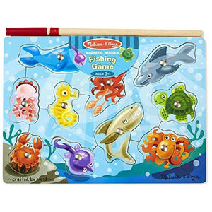 Melissa & Doug Magnetic Game (Fishing - Ages 3+).