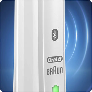 Oral-B Smart 4 4000N CrossAction Rechargeable Electric Toothbrush Powered by Braun (White).
