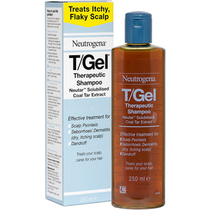 Neutrogena T/Gel Therapeutic Shampoo (250ml) - shopperskartuae
