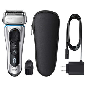 Braun Series 8 Electric Shaver (Silver, 8330s). - shopperskartuae