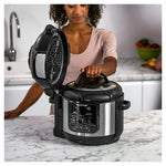 Ninja® OP500UK Foodi Max Multi Pressure Cooker and Air Fryer (Black/Silver).